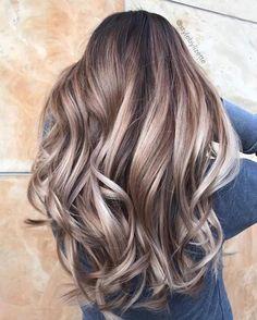 New hair colors, guy tang blonde, guy tang balayage, balayage h Balayage Hair Blonde, Brown Blonde Hair, Brunette Hair, Ombre Hair, Guy Tang Balayage, Bayalage, Wavy Hair, Haircolor, Hair 2018