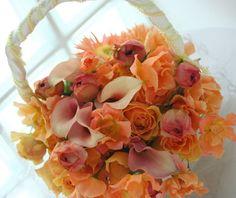 到りつく辺 : 一会 ウエディングの花 バッグブーケ