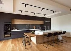 Image result for contemporary kitchen island ideas