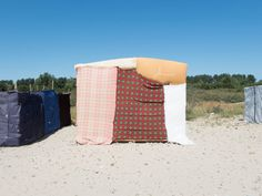 Photographer Marco Tiberio spent 11 months photographing the tents and huts in the Calais migrant camp in France.