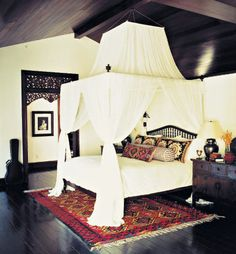 Love the bed, floor, ceiling, door, and guitar. The rest can go.