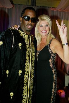 P.Diddy's Birthday in Marrakech  P.Diddy and Ivana Trump. Sounds like a great idea!