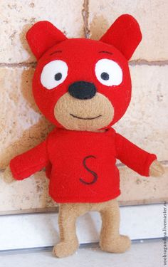 Купить Сам Тедди - мишка, герои мультфильмов, самсам, герой, флис