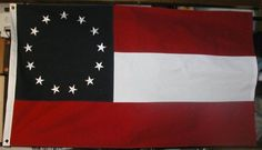 COTTON..13 Star, 1st National Confederate Civil War Flag by USFlags11. $49.00. This is a new 3' x 5' 1st National Confederate Flag. This is A high Quality, heavy sewn cotton flag with embroidered stars and brass grometts.   This is heavy cotton, not to be flown in the rain.   I will not ship American history out of the United States.