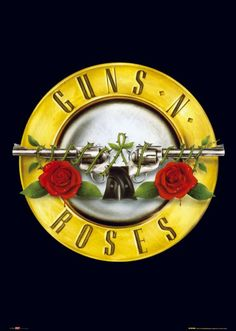 "Guns N' Roses is an American hard rock band from Los Angeles formed in The classic lineup, as signed to Geffen Records in consisted of lead vocalist Axl Rose. Some of their popular songs are ""Live and Let Die"" and ""Sweet Child O' Mine"". Axl Rose, Hard Rock, Guns And Roses Wallpaper, Queen Songs, Rock N Roll, Roses Tumblr, Roses Quotes, Best Party Songs, Poster"