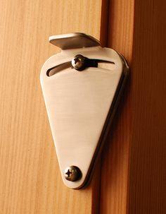 Real Sliding Hardware - Teardrop Privacy Lock for Sliding Doors, $58.00 (https://www.realslidinghardware.com/teardrop-privacy-lock-for-sliding-doors/)