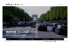 Motor Village Paris by corgnet matthieu, via Behance
