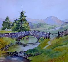 Join my online course and learn how to paint beautiful watercolours of the Lkae District