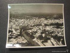 Fotografía antigua: - MURCIA - TRABAJOS AEREOS Y FOTOGRAMETRICOS - VER REVERSO - Foto 1 - 56506559