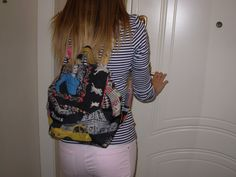 Backpack << Paris>> - Stylish Backpack - Tablet Βags - School Backpacks For Girls - Special Gift Ideas By Ladiestsantes.