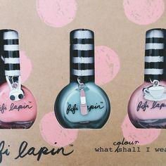 Fifi Lapin nail polish and charm set