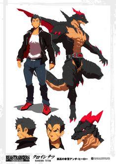 Beast Rancer Kuroishi Tetsuo by javidavie on DeviantArt Male Character, Fantasy Character Design, Character Design Inspiration, Character Concept, Concept Art, Furry Art, Fantasy Characters, Anime Characters, Character Illustration