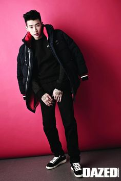 Jay Park - Dazed and Confused Magazine September Issue '14