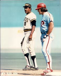 Pete Rose & Willie Stargell