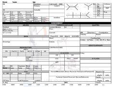 Icu Nurse Report Sheet Template Nurse Pinterest Nurse Report