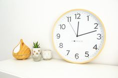 Silent clocksicle clock Clock For Kids, Bright Walls, Telling Time, Color Combos, Clocks, How To Make, Inspiration, Design