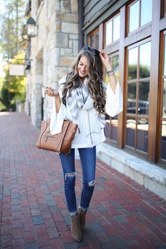 simple fall outfit - so cute