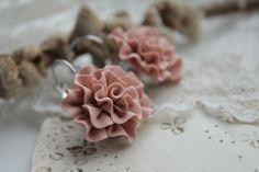 Náušnice - Powder pink - 2013027