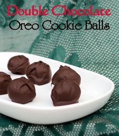 double chocolate oreo cookie balls