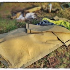 Wild Canvas polycotton swag bedroll