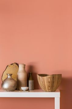 A Touch of Blush: Pretty in Pink | Hudson Valley Lighting // Copper Blush by Dulux