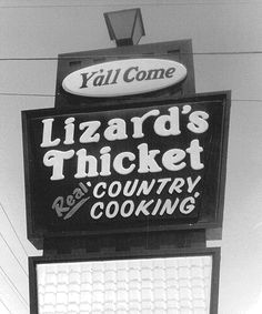 Over 35 years ago, Anna and Bob Williams opened the first Lizard's Thicket in Columbia, S.C. And while we've grown to multiple locations in the Midlands of South Carolina and in Florence, S.C., some things never change. Lizard's Thicket is still owned and operated by Bob and Anna's children and grandchildren, and we still pride …