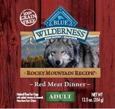 "INDIANAPOLIS, Ind. -- Blue Buffalo is recalling one of its wet dog food products due to a potential health risk.  The company says its ""BLUE Wilderness Rocky Mountain Recipe Red Meat Dinner Wet Food for Adult Dogs"" has the potential to contain elevated levels of naturally-occurring beef thyroid hormones."