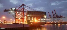 A container ship from China Shipping Line is loaded at the main container port August 13, 2007 in Hamburg, Germany. Northern Germany, with its busy ports of Hamburg, Bremerhaven and Kiel, is a hub of international shipping. Hamburg is among Europe's largest ports.