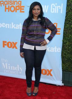 I love Mindy Kaling's style <3 especially this outfit!! She's the greatest!