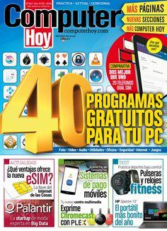 #ComputerHoy 467. 40 programas gratuitos para tu#PC. Electrical Installation, Cool Cases, Internet, Software, Technology, Digital, Reading, Computers, Microsoft