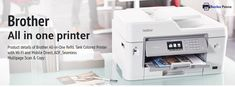Find the best printers and multifunctions to print, scan, copy and fax Brother All in One Printer with wireless wifi connectivity for home and office use. Wireless Internet Connection, Best Printers, Brother Printers, Printer Driver, Paper Tray, Cloud Based, How To Run Longer, All In One, Workplace
