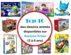 Top 10 des dessins animés pour enfants disponibles sur Amazon Prime (2 à 6 ans) – Rainbows etc Paw Patrol, Little Poney, Caillou, Anime, The Originals, Creative, Blog, Kids, Shaun The Sheep