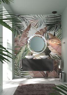 Masquespacio: From Contemporary Greco-Roman Architecture to Surrealist Fantasies The ceramics of the future stars in the Roca space at Casa Decor - Home Room Design, Home Interior Design, Interior And Exterior, Living Room Designs, Interior Decorating, Design Kitchen, Roman Architecture, Bathroom Design Luxury, Beautiful Bathrooms