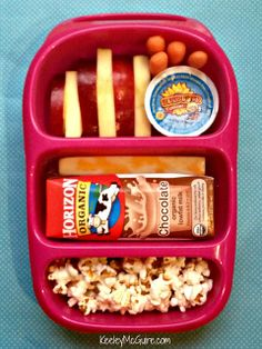 Keeley McGuire: Lunch Made Easy:  What a great lunch for Brett, she hates sandwiches in her lunchbox!
