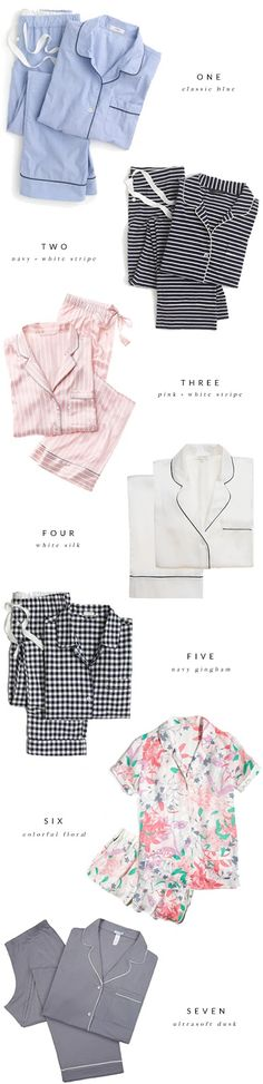 Really need to throw away all of my very ratty, non matching pjs. I'm pretty sure I need all of these to replace them. 7 Cute + Cozy Pajama Sets.