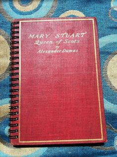 Mary Stuart Blank Book by Merrittorious on Etsy, $10.00