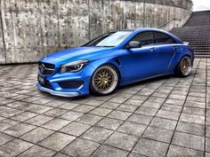 A Japanese tuning shop called Fairy Design developed a wide body kit for the Mercedes-Benz CLA. The German sedan also received an imp...