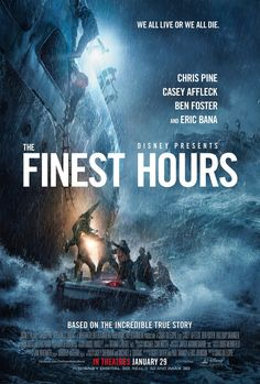 Disney's The Finest Hours gets a new trailer. Watch it here