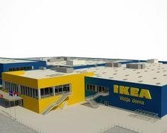 POGLEDAJTE PROJEKT PRVE ROBNE KUĆE IKEA U SRBIJI - Decor In