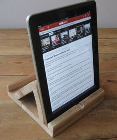Up cycling wood for my favorite Ipad
