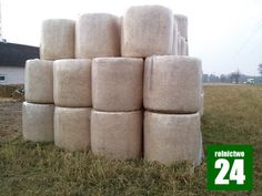 Bele siana owinięte siatka i bezbarwną folia stretch - http://rolnictwo24.pl/bele-siana-owiniete-siatka-bezbarwna-folia-stretch/