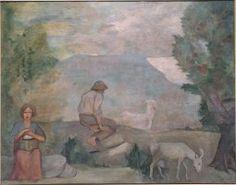 Torres García, Joaquín: Pastores (Mural de la casa del Barón de Rialp)