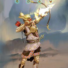 The Gods War Archer