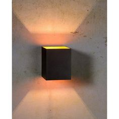 Xera Up and Downlight Lucide Shade colour: White Dar Lighting, Wall Sconce Lighting, Outdoor Lighting, Wall Sconces, Dark Hallway, Driftwood Lamp, Wall Spotlights, Fluorescent Lamp, Led Wall Lamp