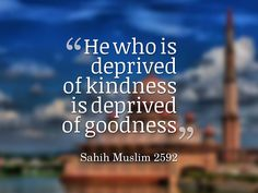 """""""Verily, Allah is kind and merciful to the people."""""""