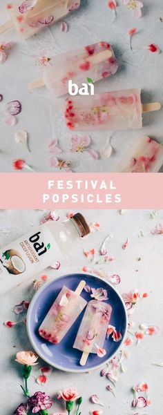 Freeze some Festival Popsicles when you're ready to head to a hot concert.