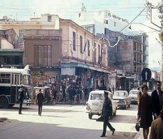 Crete in - a photo gallery Heraklion, Crete Island, Athens Greece, Time Travel, Photo Galleries, The Past, Street View, Mountains, 1960s