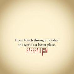 Baseballism The Love of the Season