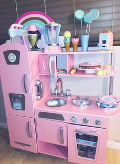 Room Design Bedroom, Girl Bedroom Designs, Kids Room Design, Room Ideas Bedroom, Kids Bedroom, Little Girl Toys, Baby Girl Toys, Toys For Girls, Girls Play Kitchen