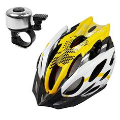 Lerway Bike Bicycle MTB Road Cycling Adult Mens Helmet Unisex fit LW-829 + Bike Bicycle Bell (Yellow) Lerway http://www.amazon.com/dp/B00M2T0H8W/ref=cm_sw_r_pi_dp_FLWrvb0BCMCM0